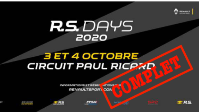 R.S. DAYS CIRCUIT PAUL RICARD