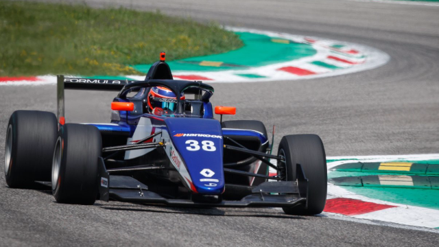 Franco Colapinto sets the pace at Monza