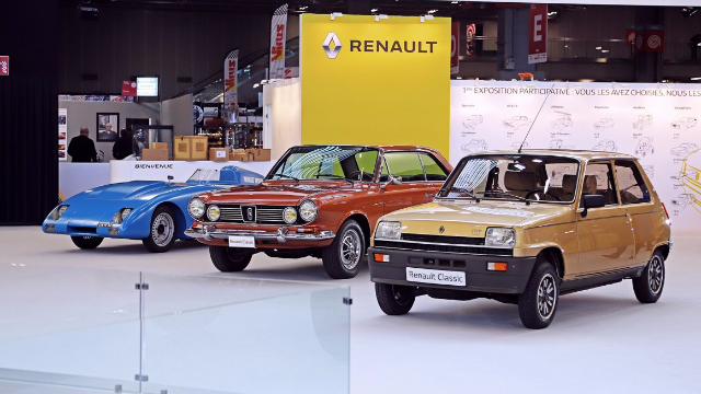 Iconic Renault Sport cars at Rétromobile 2020