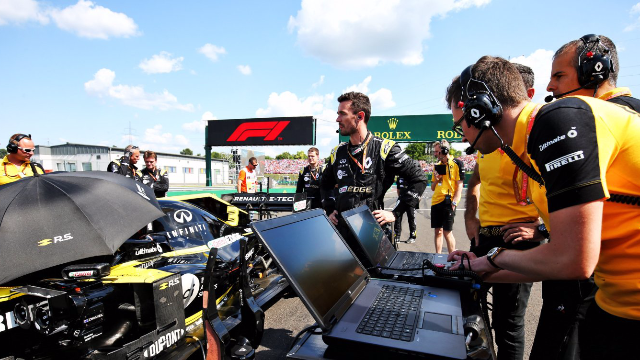 Renault DP World F1 Team extends partnership with HP